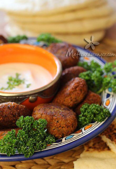 Falafels : Simple, économique et tellement bon ! - Blog cuisine marocaine / orientale Ma Fleur d'Oranger / Cuisine du monde /Recettes simples et cratives