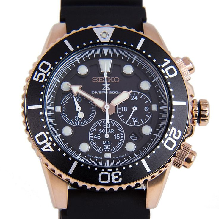 Chronograph-Divers.com - Seiko Solar Prospex Black Rubber Bracelet Scuba Divers Gents Watches SSC618P1 SSC618, $400.00 (https://www.chronograph-divers.com/seiko-solar-prospex-black-rubber-bracelet-scuba-divers-gents-watches-ssc618p1-ssc618/)