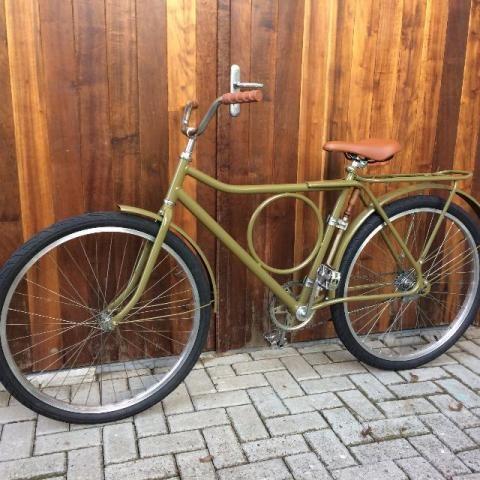 Bicicleta Retro Monark Barra Circular Vintage