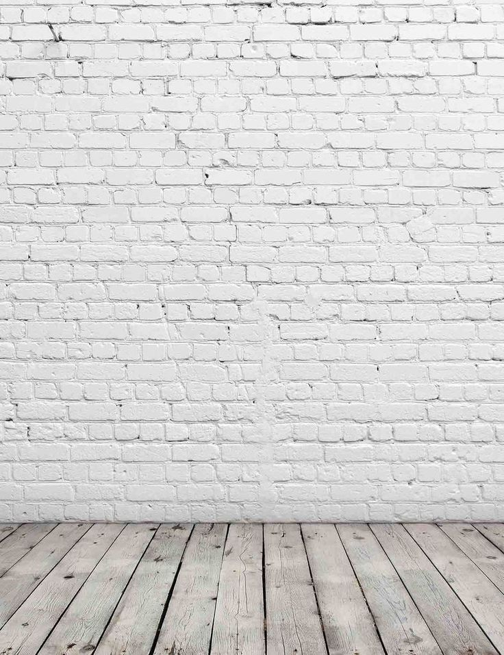 Senior White Stucco Brick Wall With Old Wood Floor Texture Photography Backdrop Brick Backdrops Brick Wall Backdrop Brick Wall Background