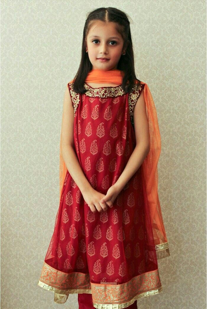 219 best Pakistani kids party wear images on Pinterest ...