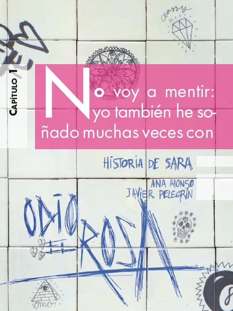 """""""Odio el rosa, Historia de Sara."""" de Ana Alonso y Javier Pelegrín, Ficha elaborada por Daniel Sánchez Arroyo."""