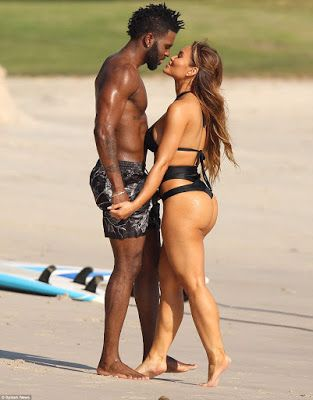 Photos: Jason Derulo and 50 Cent's ex Daphne Joy during romantic holiday in Mexico - http://www.thelivefeeds.com/photos-jason-derulo-and-50-cents-ex-daphne-joy-during-romantic-holiday-in-mexico/