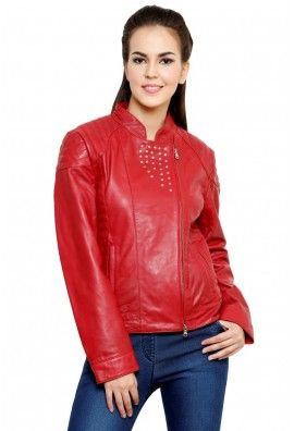 UNIVERSAL RED LEATHER JACKET