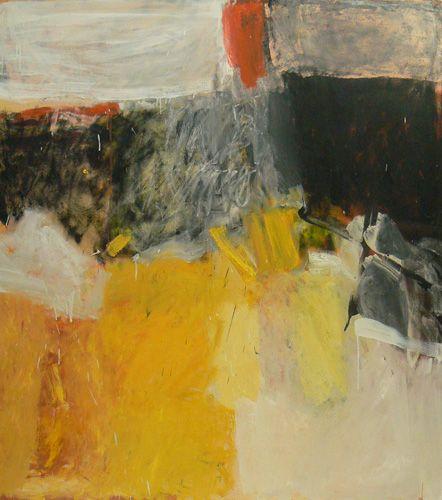 Margaret Glew - Winter Worn, oil on canvas