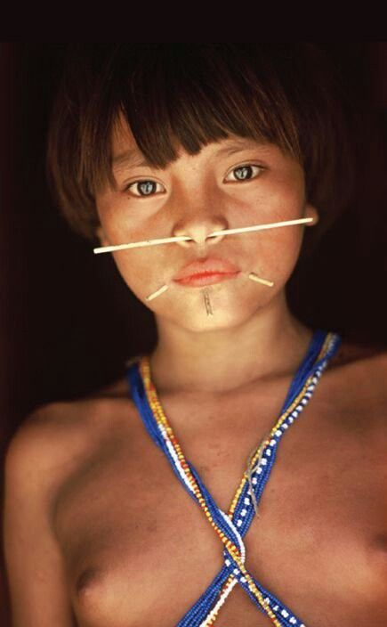 The Yanomami are the largest relatively isolated tribe in South America. They live in the rainforests and mountains of northern Brazil and southern Venezuela.