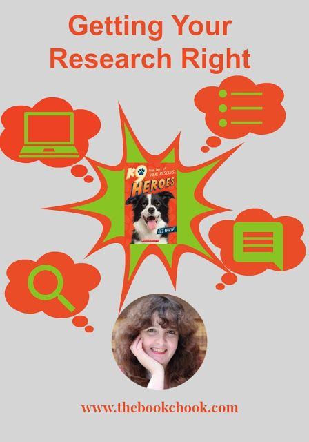 Getting Your Research Right - research and writing tips for kids by author, Dee White.