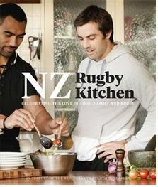 $20 Celebrating the love of food, family and rugby - a warm, accessible cookbook with recipes from key NZ rugby players present and past. A treasure trove of hearty, tasty recipes that Kiwi men and their families love to eat. Includes lots of photographs of the players relaxing - cooking and chatting - Plus lovely inviting shots of the food, styled and photographed in a friendly accessible way. $20