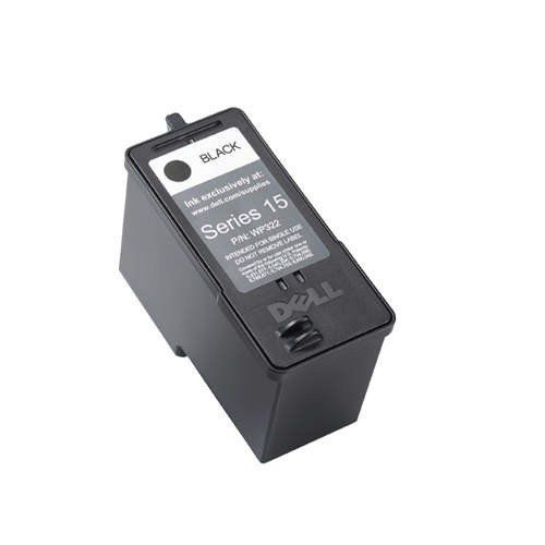 Dell Series 15 Inkjet Cartridge Standard Capacity Black Ref 592-10305 WP322 -  Dell Original Inkjet Cartridge Standard Capacity Black   - http://ink-cartridges-ireland.com/dell-series-15-inkjet-cartridge-standard-capacity-black-ref-592-10305-wp322/ - 15, 592-10305, black, Capacity), cartridge, DELL, Inkjet, Ref, Series, Standard, WP322