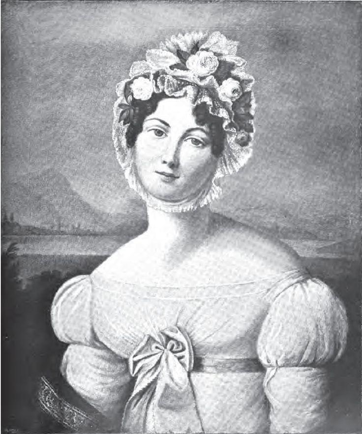 Аглая Антоновна Давыдова (1787—1842), ур. герцогиня де Граммон, жена А. Л. Давыдова.