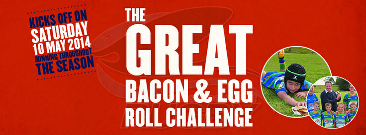The Great Bacon and Egg Roll Challenge