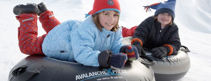 AvanlancheXpress Snow Tubing by YORK, PA  HERITAGE HILLS RESORT  2700 MOUNT ROSE AVE. YORK, PA 17402  877-782-9752