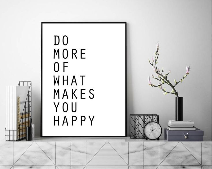 Excited to share the latest addition to my #etsy shop: Do More Of What Makes You Happy. Wall Art, Art Print, Typography Poster, Black and White, Scandinavian Art, Minimalist http://etsy.me/2GIHk1q #art #printmaking #letterpress #white #black #print #photograph #quote