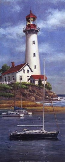 Lighthouse Shoals I By T C Chiu Pictures Lighthouse