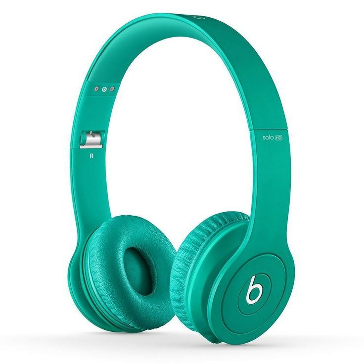 Beats Solo HD On Ear Headphone Drenched in Teal Headphone By Beats http://www.beats.com.co/beats-solo-hd-on-ear-headphone-drenched-in-teal.html