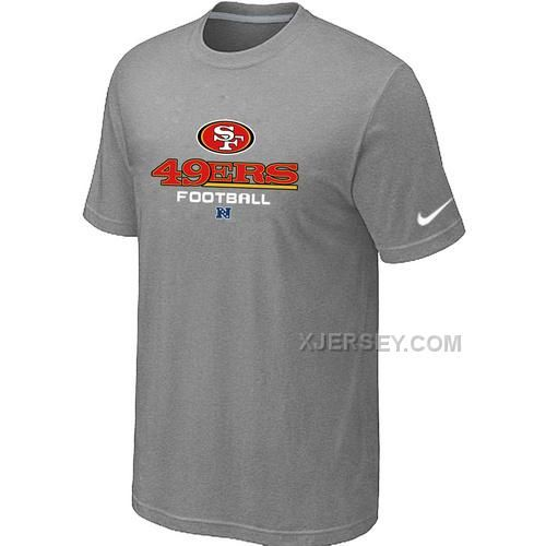 http://www.xjersey.com/san-francisco-49ers-critical-victory-light-grey-tshirt.html SAN FRANCISCO 49ERS CRITICAL VICTORY LIGHT GREY T-SHIRT Only $26.00 , Free Shipping!