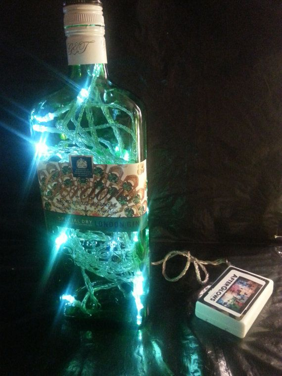 Upcycled LIMITED EDITION No. 10 Gordon's Gin by AfterGlowsByStacey, £24.00