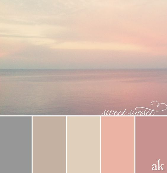 Calming Colors Cool Best 25 Color Themes Ideas On Pinterest  Wedding Color Themes Design Ideas