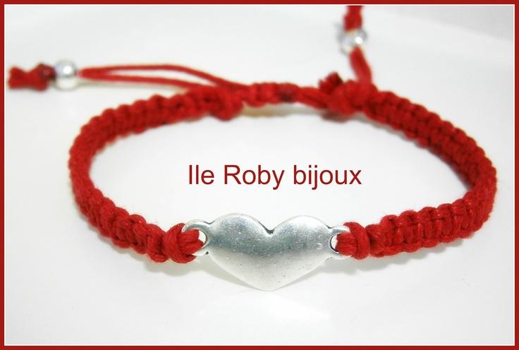 braccialetto macramè , primavera esatate 2013 - ilerobybijoux - accessori e bijoux handmade