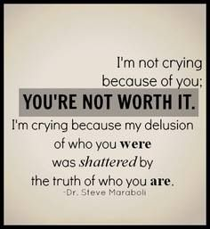 Knowing the truth hurts but I picked myself up and started a new life.  A life free and amazing!!