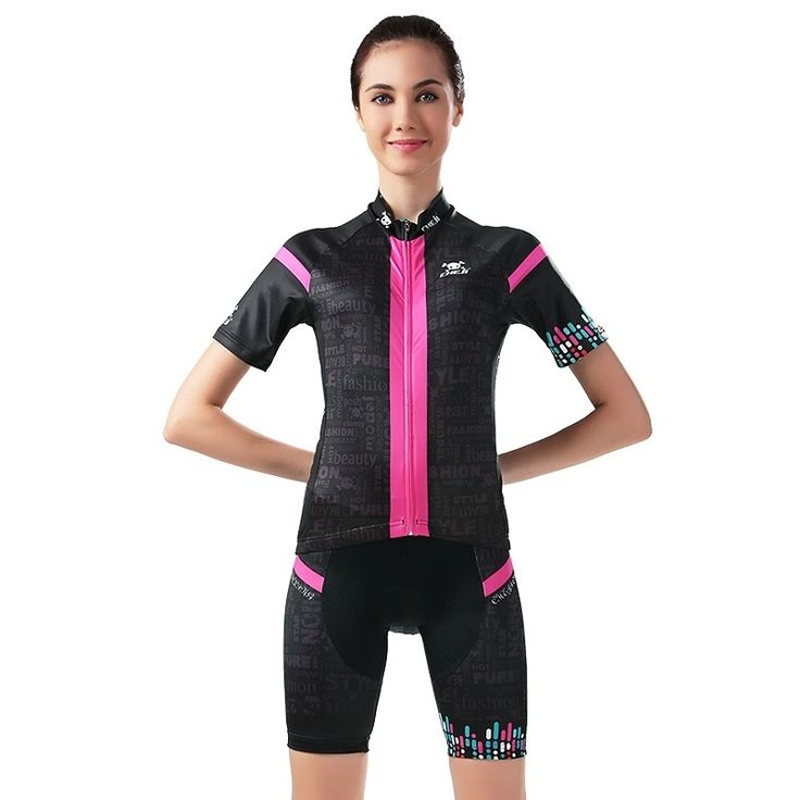 38.64$  Buy here - http://ali92t.shopchina.info/go.php?t=32692181584 - Women Cyling Clothing Jersey Sets bicycle Breathable Clothes Summer Quick-Dry female Bike Sports Jersey Roupa Ciclismo maillet 38.64$ #magazineonlinewebsite