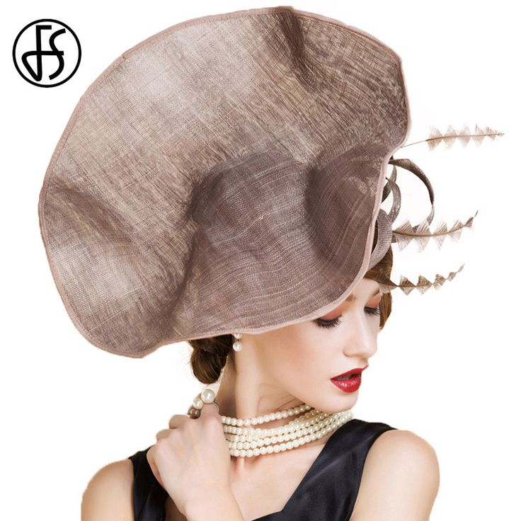 The consequences of failing to Discount 16% Sale Price US $75.59 FS Brown Vintage Wedding Dresses Women Summer Linen Evening Hat Elegant Ladies Large Brim Hats With Feather Party Fedora Cap when launching your business #wedding_party_dress