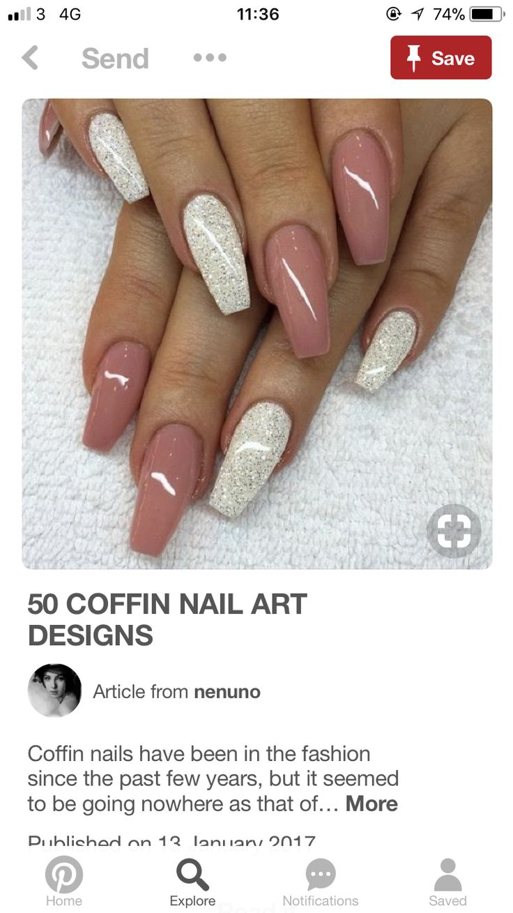 31 best Nails images on Pinterest | Coffin nails, Nail art designs ...