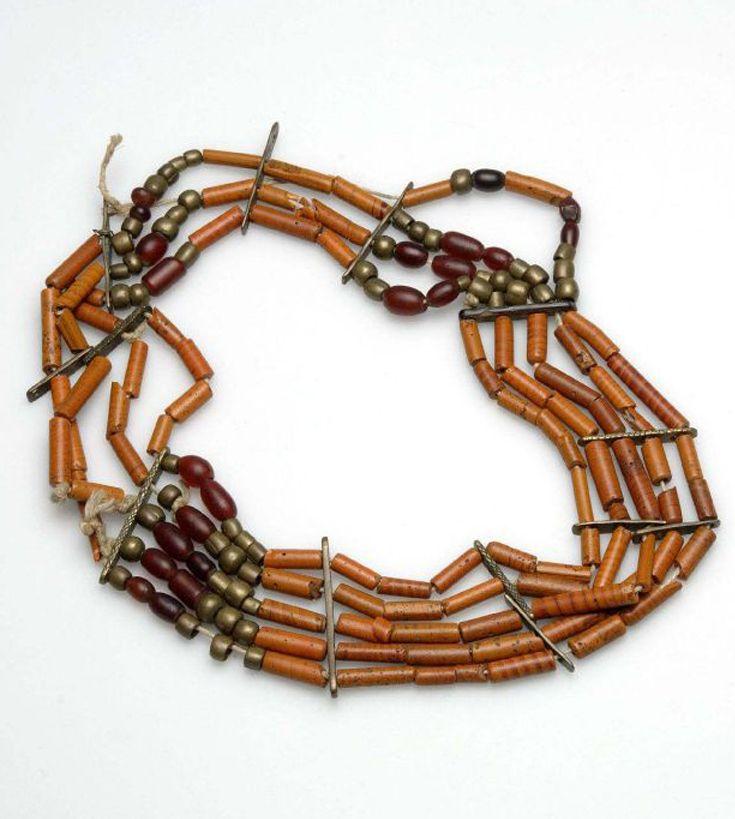 Indonesia ~ Sumatra ~ Nias | Woman's head  jewellery ~ Bahalögo sikondra | ca. 1900 or earlier