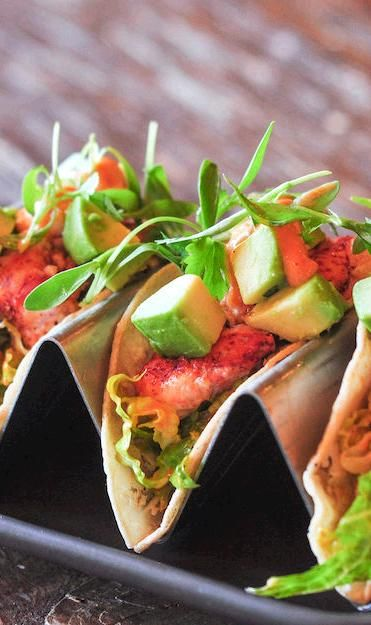 Lobster Tacos | Light and refreshing, an awesome upgrade to a typical chicken taco.