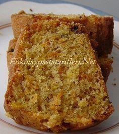 Kolay Havuçlu ve Portakallı Kek Tarifi