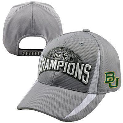 Baylor Bears 2013 Big 12 Football Champions Locker Room Adjustable Hat