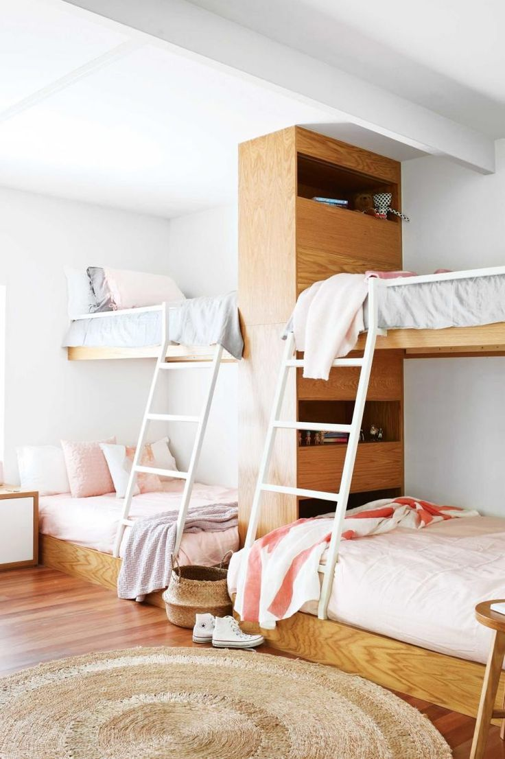 Could work for a pretty and functional Hostel!?! (without shaky, squeaky, annoying bunk beds!)