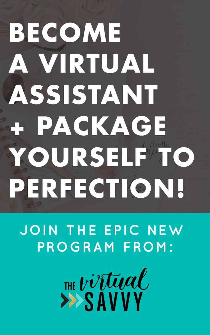 Learn how to package yourself to perfection, land your first clients, and start a successful and profitable VA business! Join the epic new course for new virtual assistants... Click through to learn more!