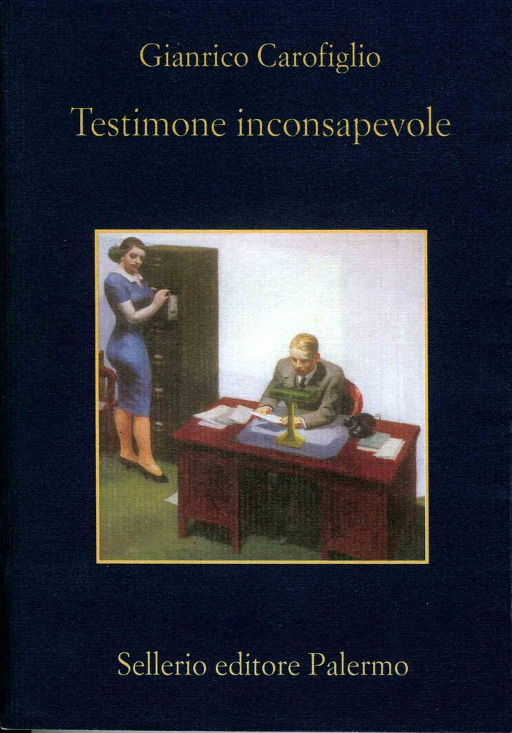 Gianrico Carofiglio. Testimone inconsapevole. La recensione.