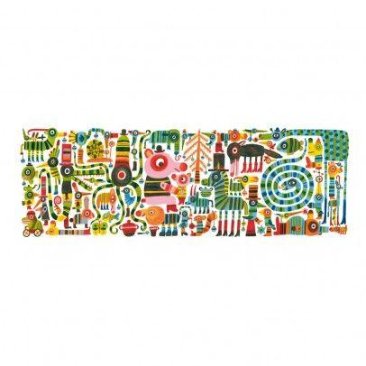 Puzzle Zebrissimo Multicolore  Djeco