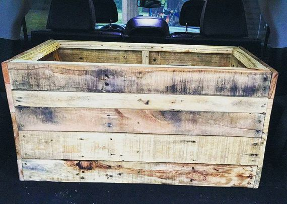 78 Best Ideas About Pallet Toy Boxes On Pinterest Toy