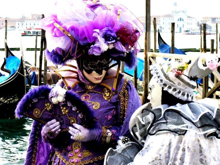 Venice carneval mask, Italy