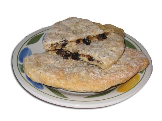 A Banbury cake is a spiced, currant-filled, flat pastry cake similar to an Eccles cake, although it is more oval in shape.
