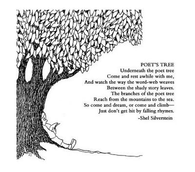 This poem might go nicely on a bulletin board for Poetry Month in April.