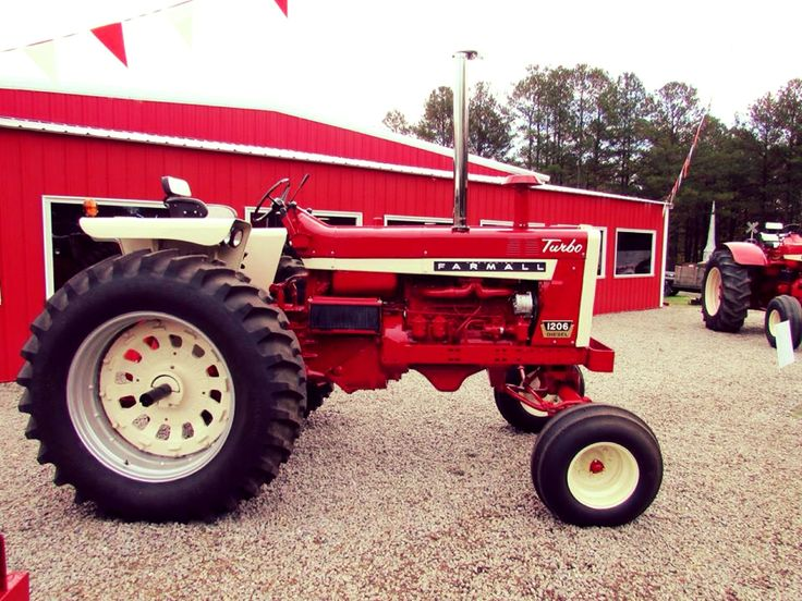 International Harvester 684 Tractor : Best images about only red tractors on pinterest