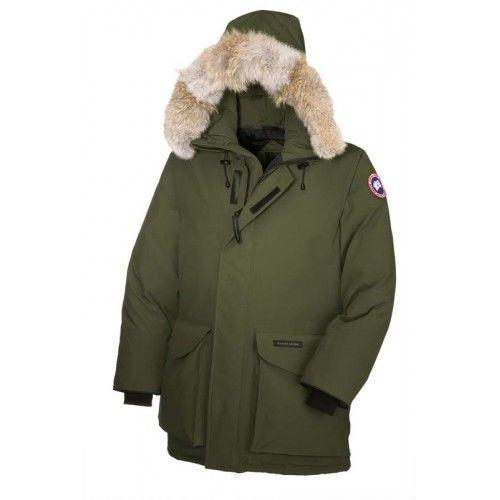 Canada Goose Mens - Buy Canada Goose Mens Ontario Parka Green Down Jacket Sale