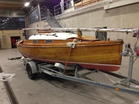 15er P1282 Jollenkreuzer - Typ: Kajütboot Baujahr: 1954