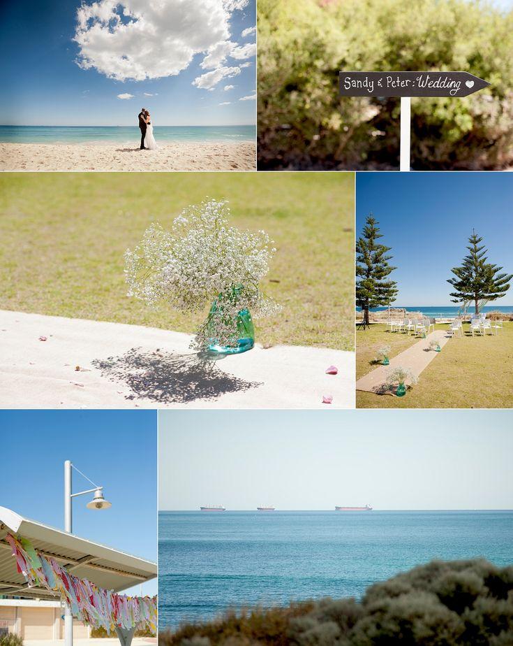 Swanbourne beach wedding ceremony Perth Wedding ceremony