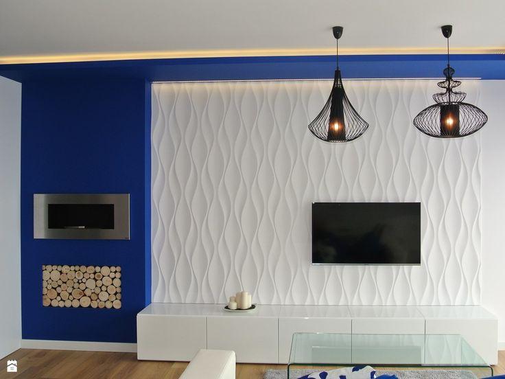 Salon styl Nowoczesny - zdjęcie od Justyna Lewicka Design - Salon - Styl Nowoczesny - Justyna Lewicka Design