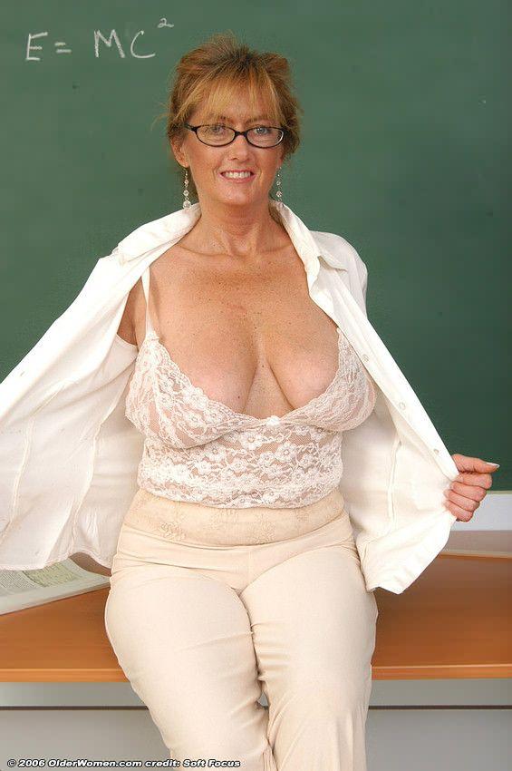 Teacher boobs big