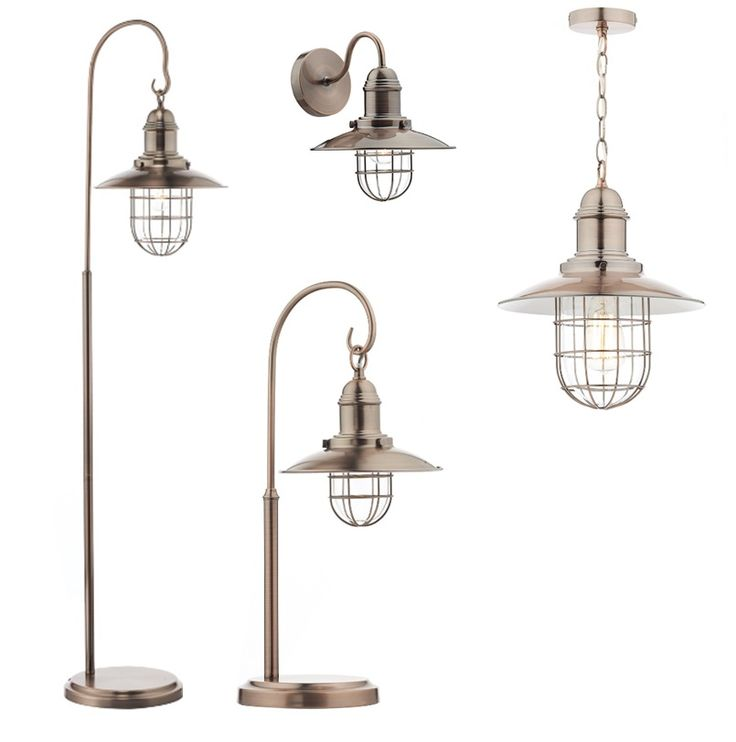 Check out our fabulous Terrace Copper collection; Floor Lamp £139, Table Lamp £73.50 Wall Light £50, Pendant £60   #meyerandmarsh #lighting #homedecor