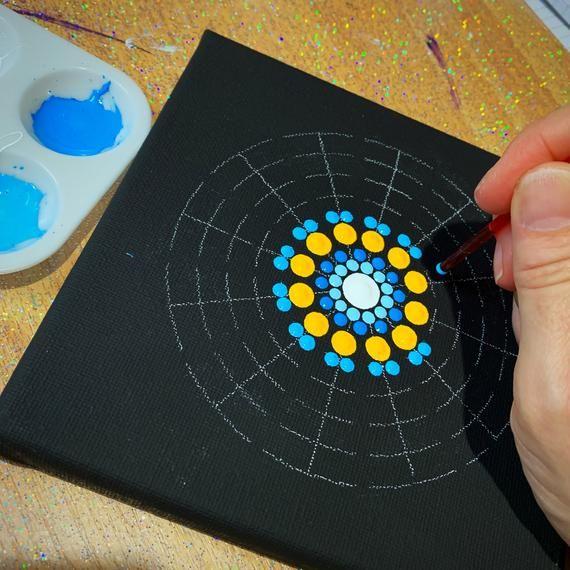 Sm 12 Segment Mandala stencil | Etsy