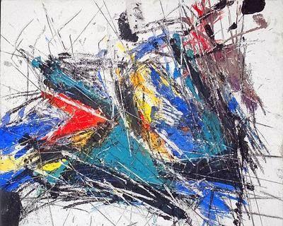 Sandro Martini / alla Galleria Blu