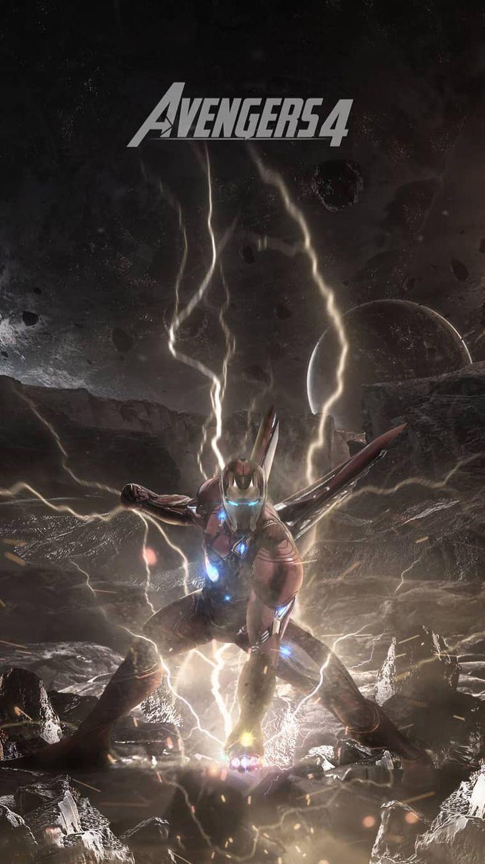Avengers Endgame Iron Man Poster IPhone Wallpaper # ...