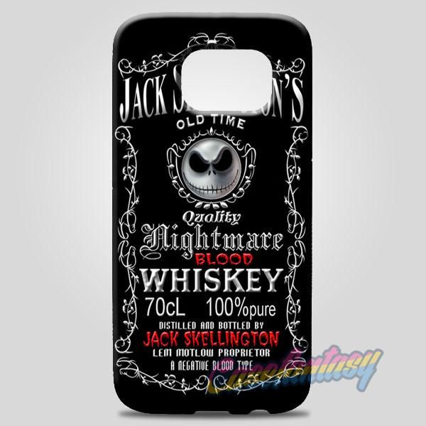 Jack Skellington Blood Whiskey Samsung Galaxy Note 8 Case | casefantasy